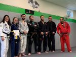 Belt promotion with our coaches