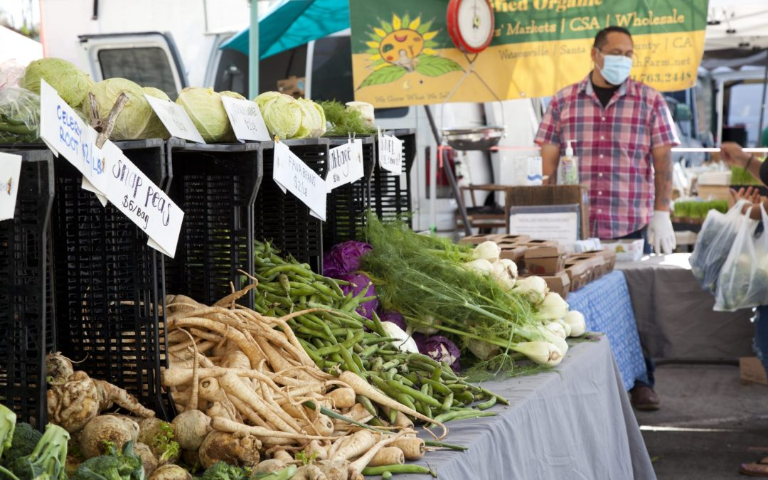 2021 Scotts Valley Farmers' Market Starts May 1st